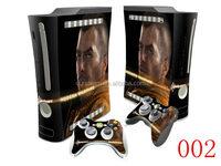skin sticker for Xbox 360 game console