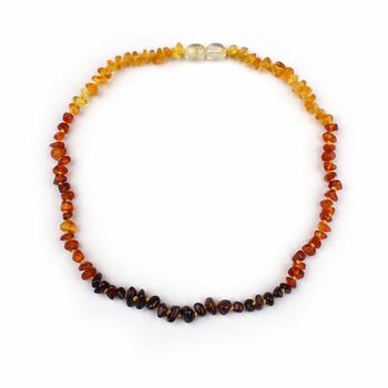 nuovo stile d4ff9 49a2a 5 Colori Perle D'ambra Naturale Arcobaleno Multicolore Gioielli ...