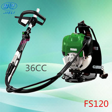 Good quality gasoline backpack FS120/37cc brush cutter