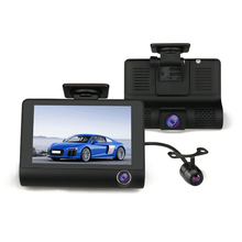 4.0 ''TFT, DASH CAM W/3 MANIER <span class=keywords><strong>CAMERA</strong></span>, SPECIALE voor TAXIS