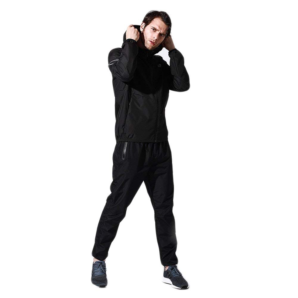 ce4aac269735e Get Quotations · Mens Sauna Suit, Womens Sweat Suit for Weight Loss, Hot  Sweat Workout Slimming Exercise