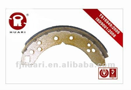 brake shoes motorcycle(TRW:GS6017)
