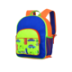 Kids Cool Bright Dark Blue School Backpack