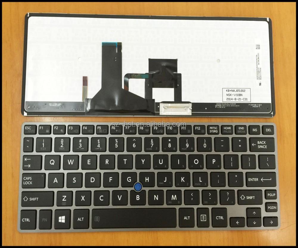 Us Layout Laptop Keyboard For Toshiba Portege Z30 Z30t Z30-a Z30t-a Z30-b  Backlit - Buy Laptop Keyboard For Toshiba Z30,Notebook Keyboard,Us Keyboard