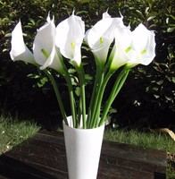 GNW FL-CA38-5CM High simulation Real Touch PU Classical Artificial Calla lily
