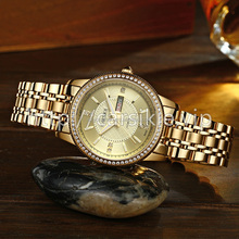 Fashion lady watch 2 tone woman watch for wedding gift