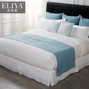 Hotel luxury bed sheets set- 1800 series platinum top quality queen