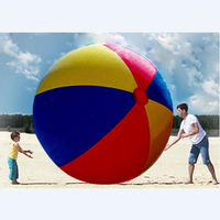 NEW design large inflatable beach ball with brand logo