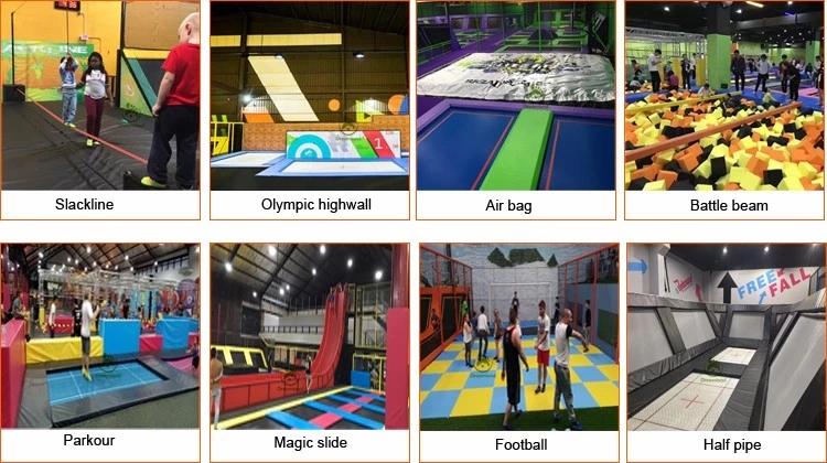 Dreamland ASTM Certified Large Indoor Trampoline Park for Sale