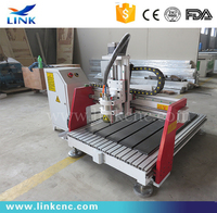 CNC Router 6090 for acrylic/MDF/PVC with HIWIN square orbit and DSP control system sell well