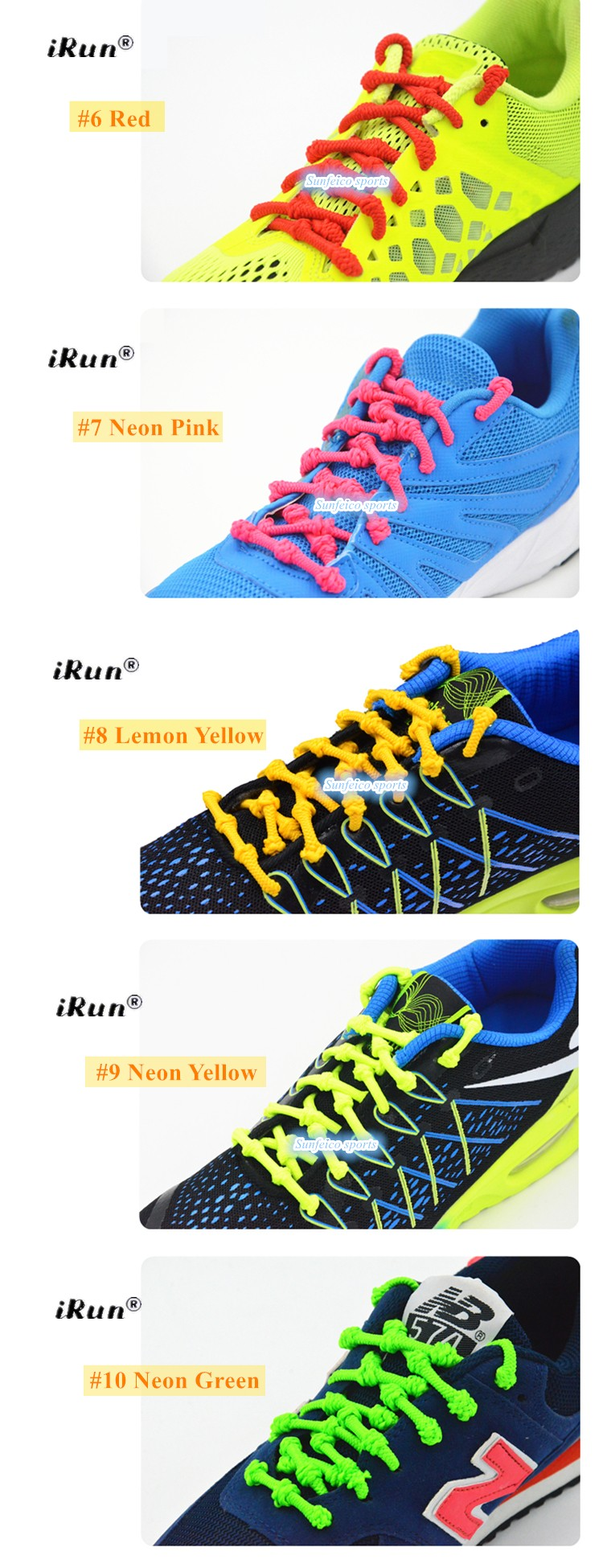 ab21b7b45e4f Never Tie Triathlon Elastic Shoelaces with Knots For Sneakers - Hot-Sale  Cord Knot No