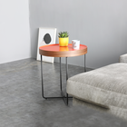 Factory Supply Powder Metal Coated Frame End Table