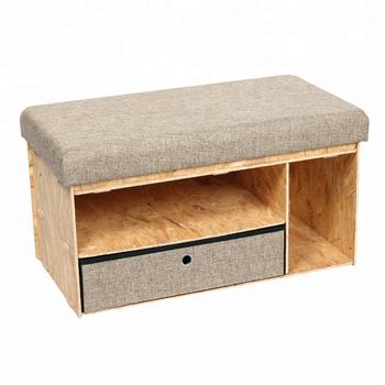 Sensational Indoor Wooden Storage Ottoman Bench Seat With Drawer Buy Bench Seat Storage Bench Seat Wooden Bench Seat Product On Alibaba Com Alphanode Cool Chair Designs And Ideas Alphanodeonline