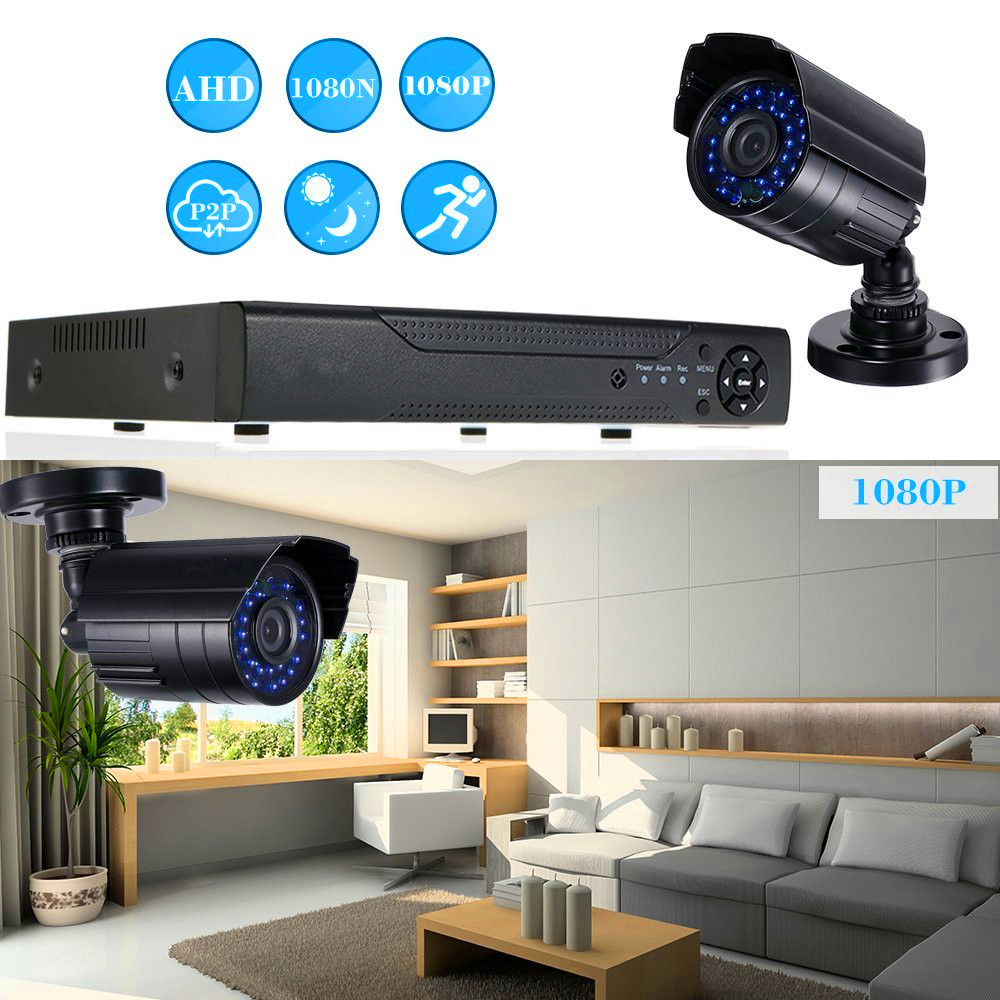 Surveillance Security System 16 Channel Standalone H.264 DVR 16pcs CCTV Day/Night Camera