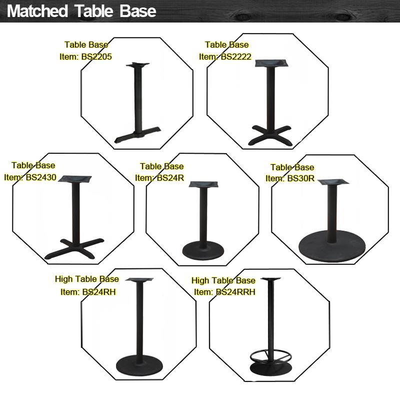 गर्म बिक्री लकड़ी खाने की मेज इस्तेमाल किया रेस्तरां मेज और कुर्सियों