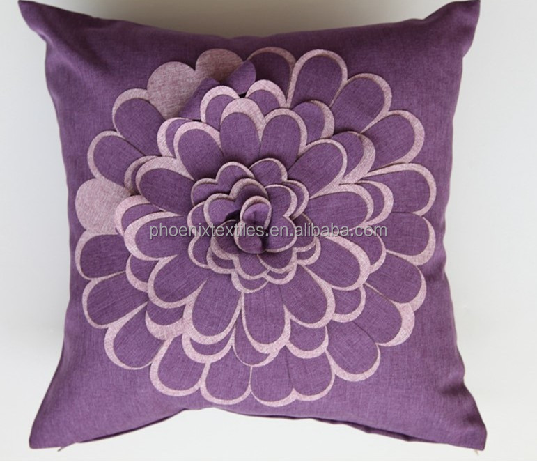Embroidery Designs Decorative 3d Pillow Cover - Buy Embroidery Designs Pillow CoverDecorative ...