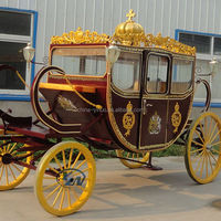 Luxury royal horse carriage/royal horse wagon/royal horse cart