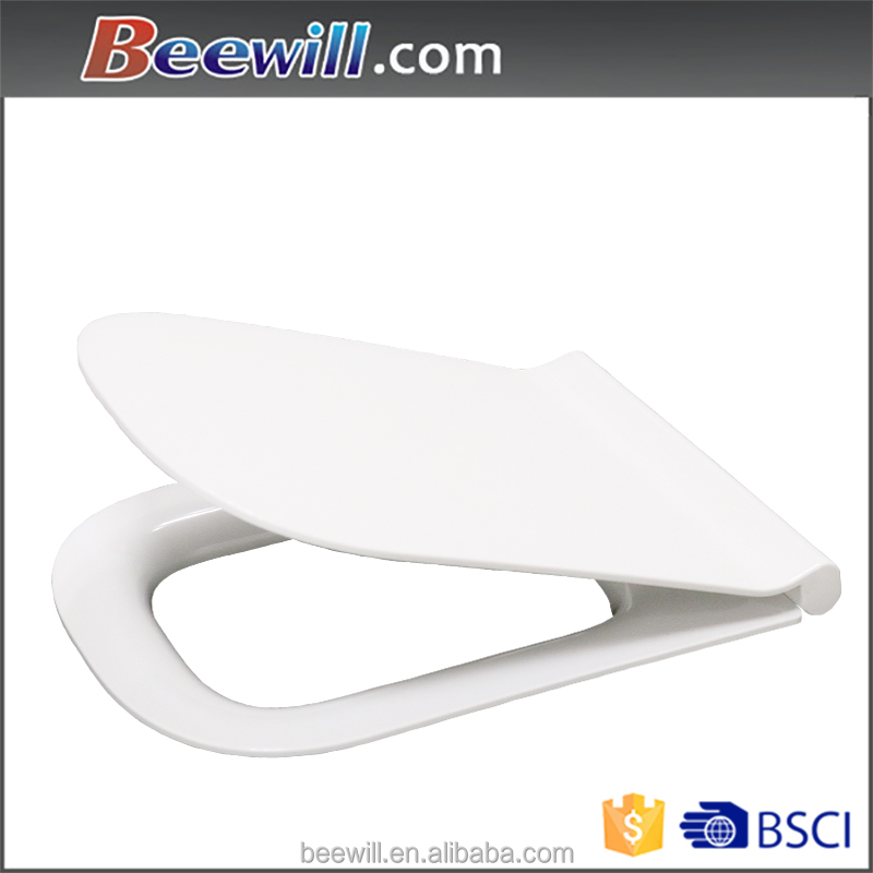High quality western style thin design BSCI wc toilet seat cover