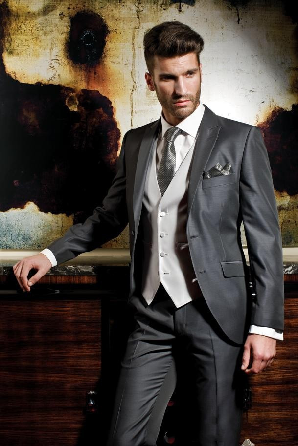 Formal Suit Prom Party Formal Wearing Customized Groom Wedding ...
