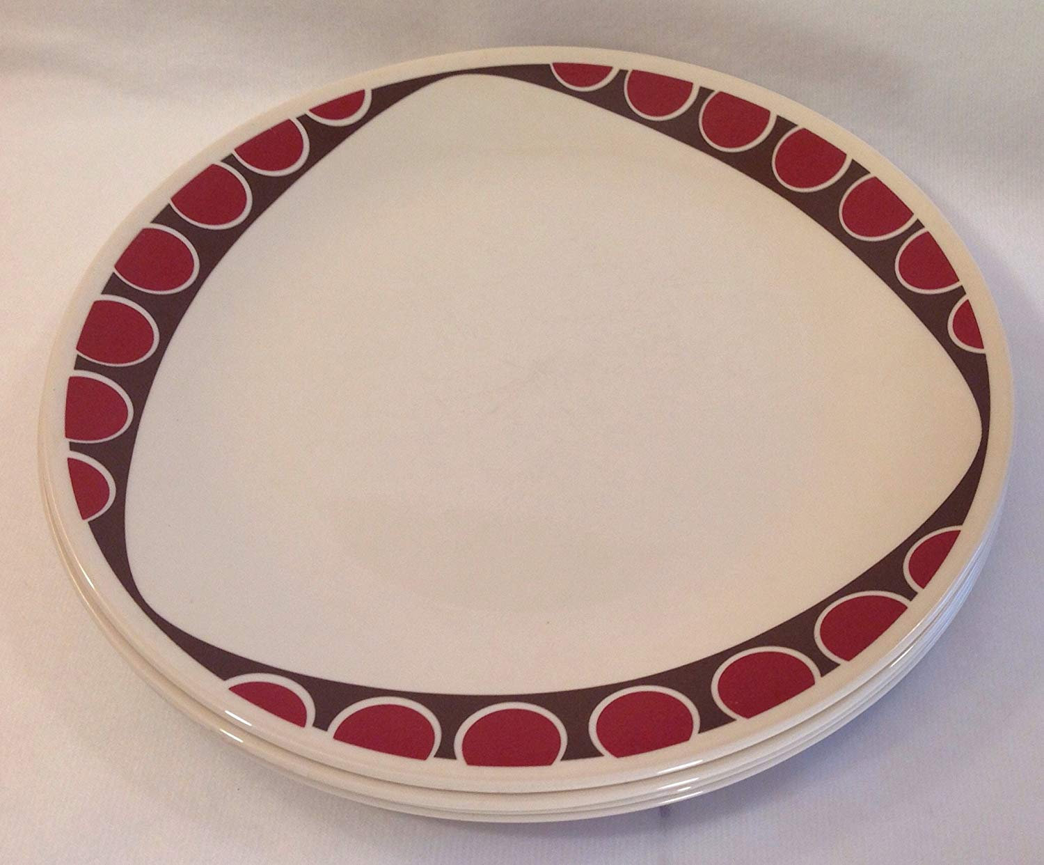 fascinating Corelle Luncheon Plates Open Stock Part - 5: Get Quotations · Corelle Kitu Pattern Dinner Plates Set of 4