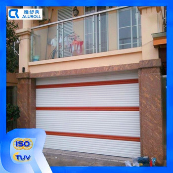 European Type Aluminum Roller Shutter Garage Doors Golden Supplier