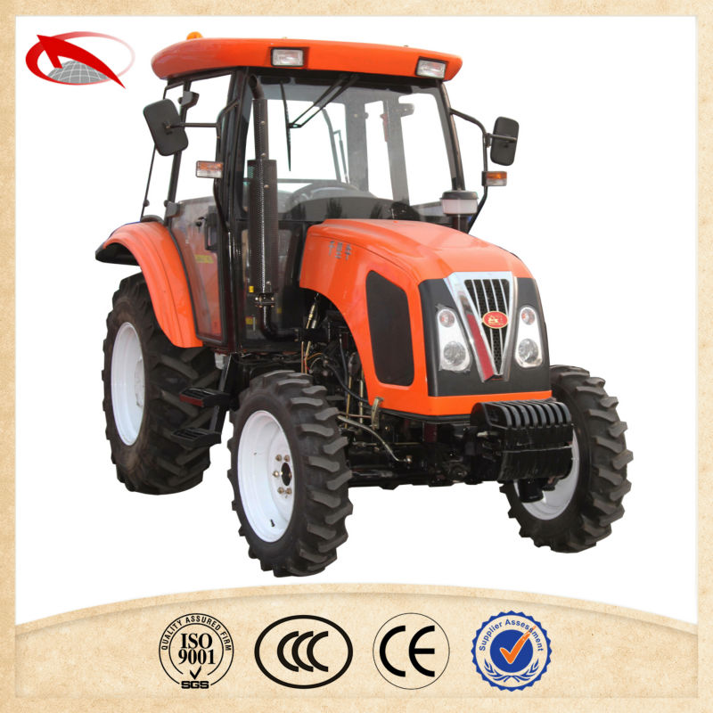 Famous brand QLN 4WD farm tractor 60 hp emark