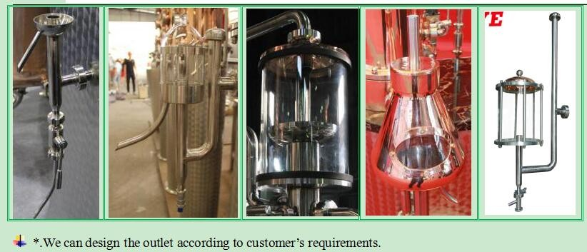 DYE Copper Alcohol Distillation Equipment with High Columns for Making Vodka Gin Whiskey Rum
