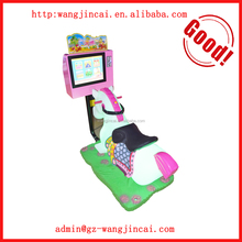 kids coin operated swing rocking ride on horse arcade game machines amusement park kiddie rides racing horse game machine