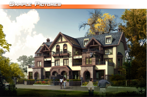 Apartment Building Architectural Modeling Services