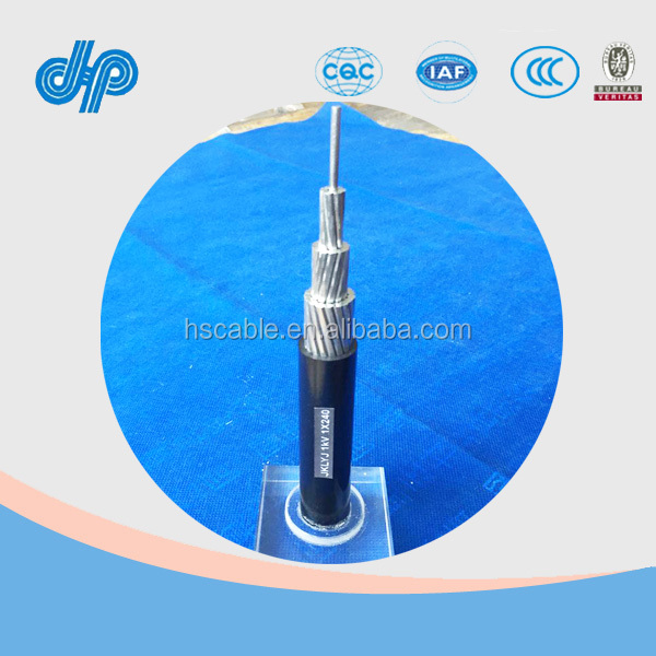 6.6KV 22.9KV ACSR-OC Cable Aluminum Conductor Steel Reinforced XLPE Insulated Wire