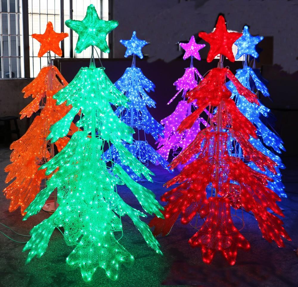 Large Acrylic Christmas Outdoor Decoration Lighting ...