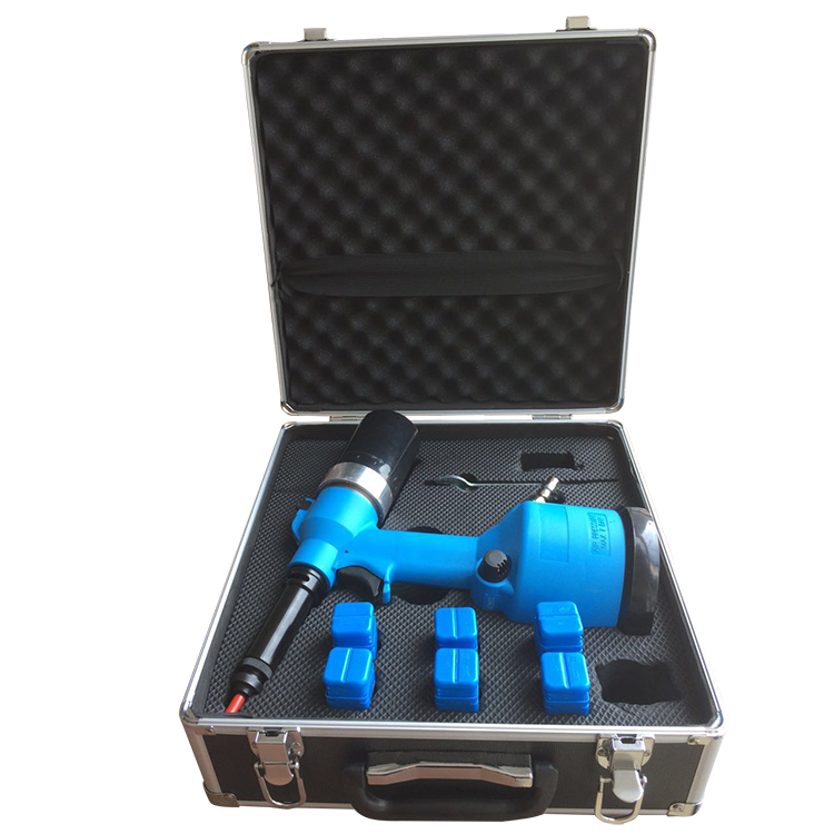 LM-802M4 Professional Pneumatic Tools Air Pull Nut Automatic Air Riveter Nut Gun Tools with M4 M5 802 Quick Change
