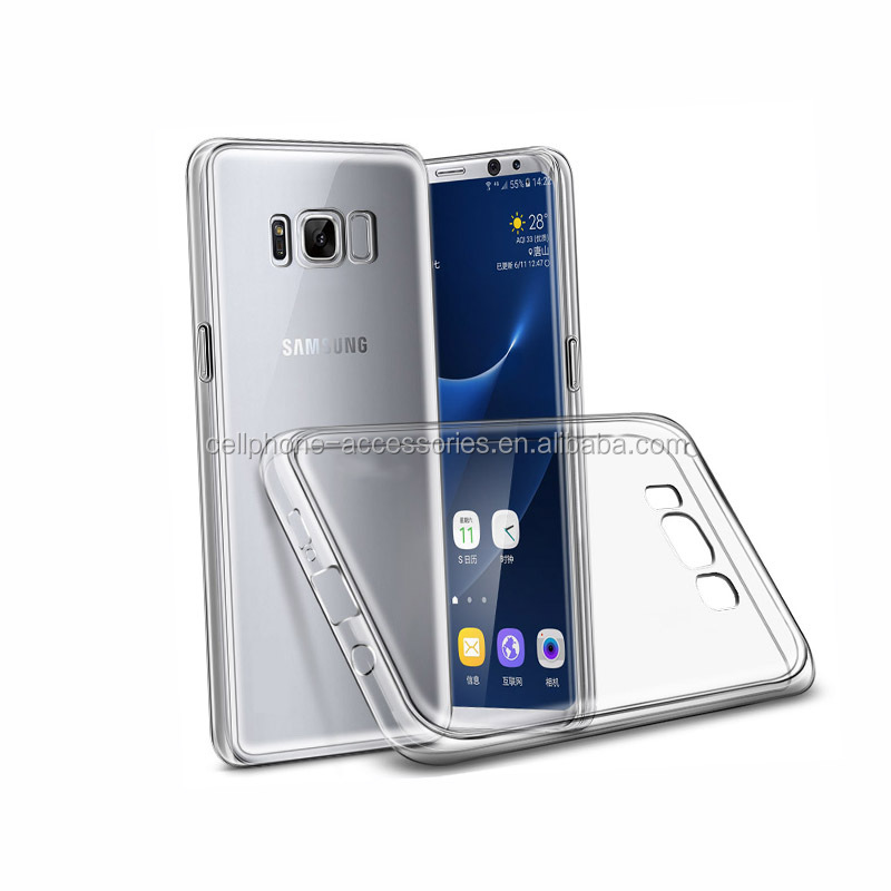 New phone accessories mobile soft TPU case replacement for Samsung Galaxy S8