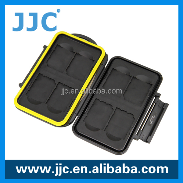 JJC water-resistant memory card case for 8 x SD