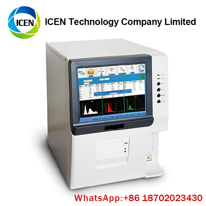 IN-B141 Automatic Blood Testing  Cell Counters CBC  5 part Hematology Analyzer