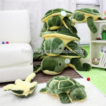 wholesale 2017 new design animal stuffed toys Large sea turtles plush toys plush tortoise for kids