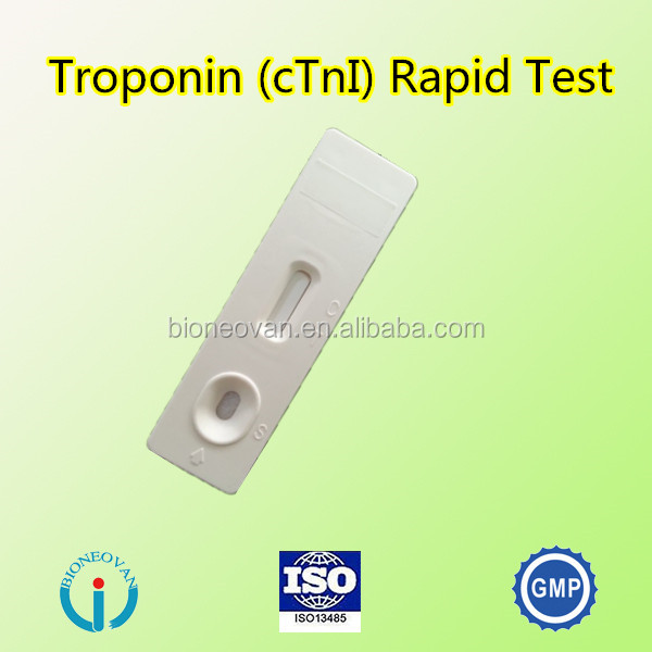Consumable test device cTn I/MyO/CK-MB 3 in 1 combo rapid test kit Rapid medical test kits