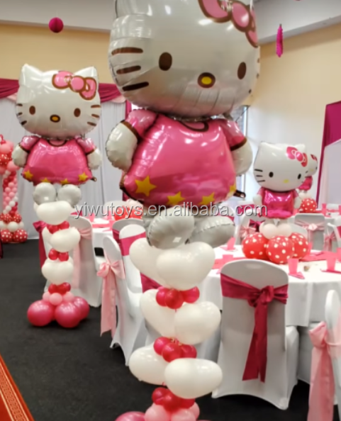 Hello kitty Girl's birthday party balloon