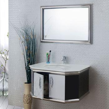 Bathroom Vanity Double Sink 60 Inches Vintage Retro Bathroom