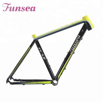 "Funsea china manufacturer cheap price Alloy 6061# 700c""*19"" fork bike bicycle road manufacturer of bicycle frame"