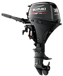 "Suzuki 20HP 4-Strk EFI Outboard Motor Tiller 20"" Shaft Electric Start Power Tilt"