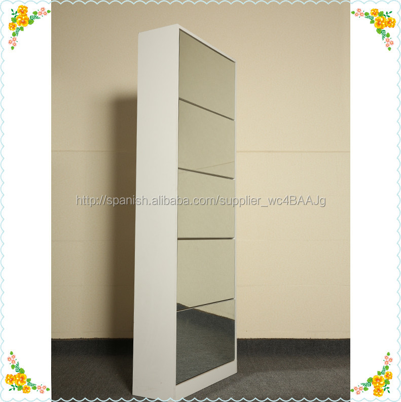 Madera ikea zapatero espejo estante ikea identificaci n for Zapatero alto con espejo