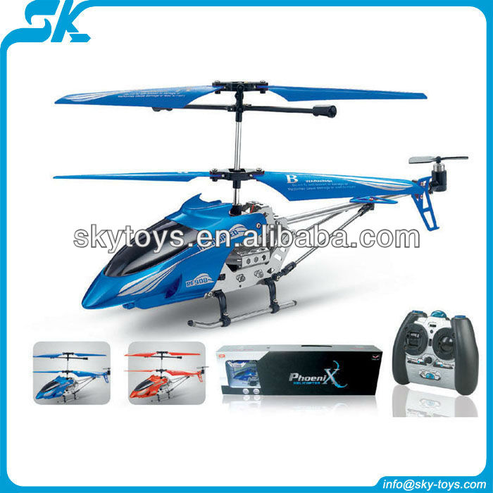 !R/C helicopter aircraft model PF908 3.5 Channel Metal RC Helicopter metal pro helicopter