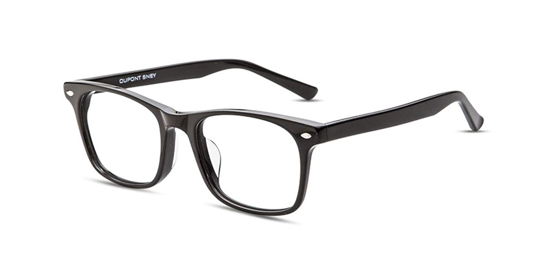 c8d714f61cd Get Quotations · Firmoo - Vintage Fashion Acetate Square Reading Glasses  Frame (Blue Light Blocking Glasses Unisex Lenses