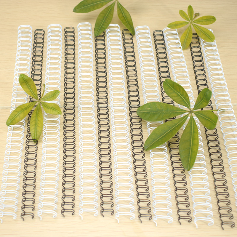 double wire metal spiral binding coil binding comb for binding book & calendar
