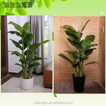 Marvelous Hot Selling Cheap Artificial Banana Plant Tree Wholesale Indoor Artificial  Plants For Sale