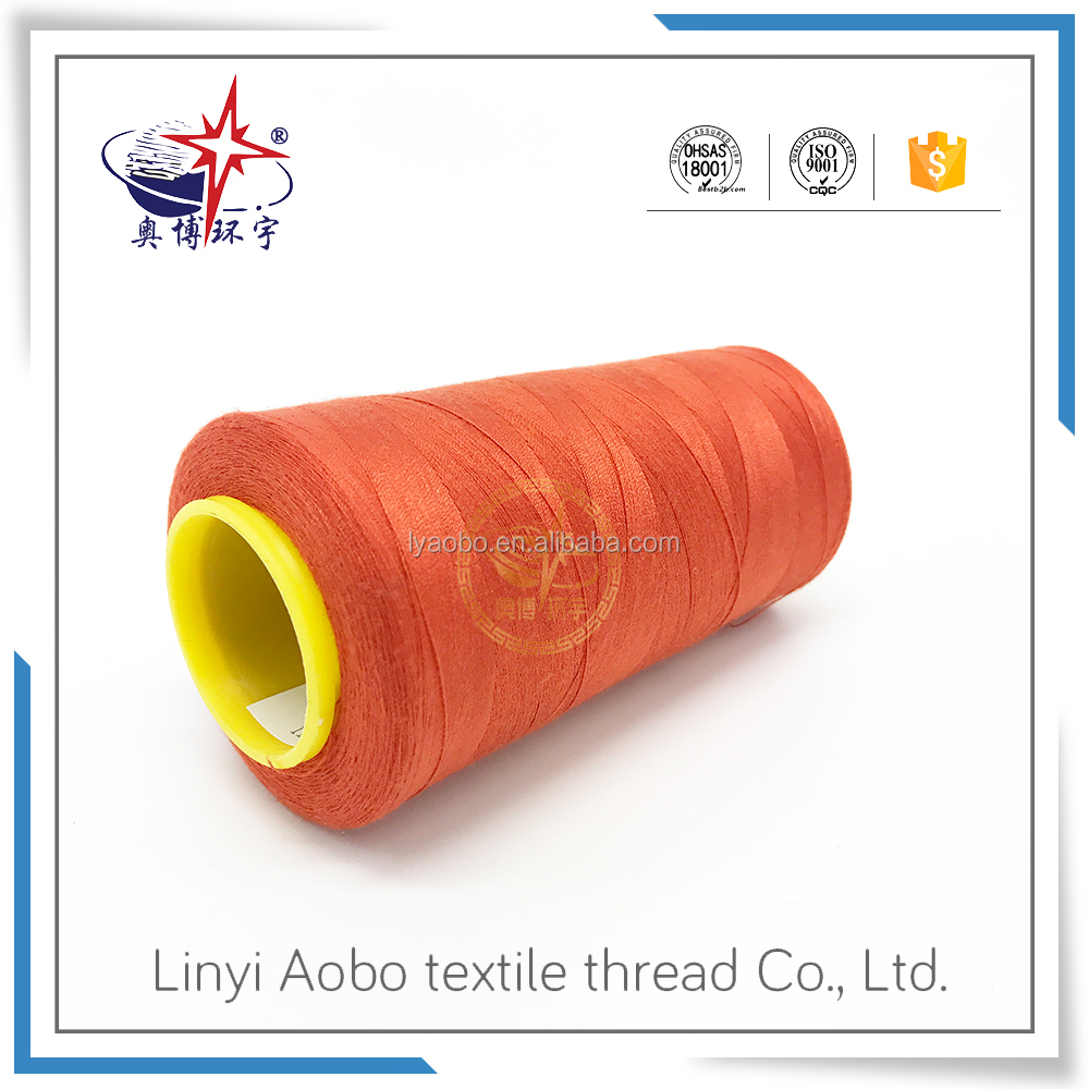 excellent lubricity and low water shrinkage sewing thread