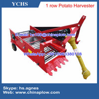 Farm machinery one row potato harvester for YTO tractor