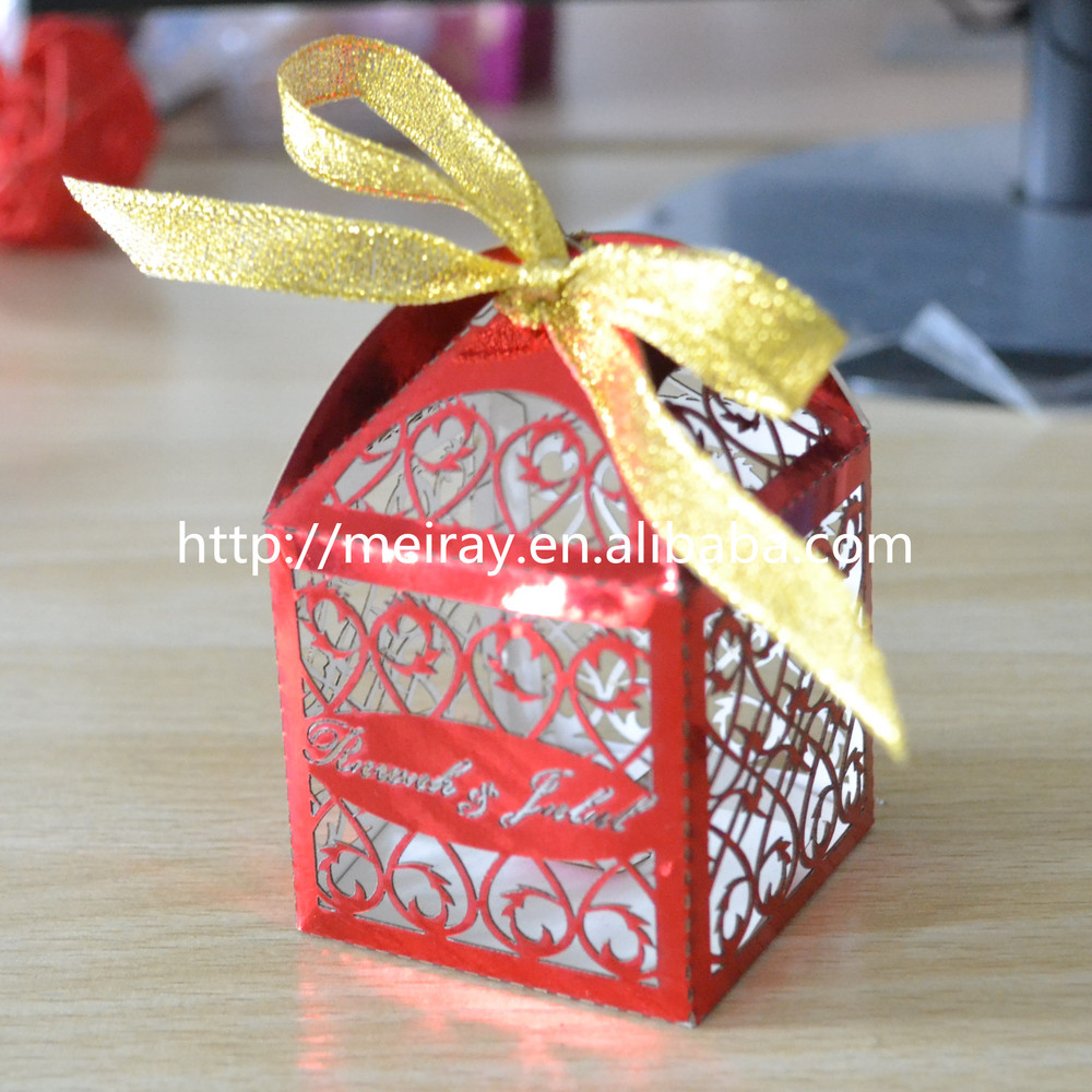 Ideas Wedding Gift Boxes For Guests china supplier wedding gifts for guestslaser cut gift box baptism souvenirs