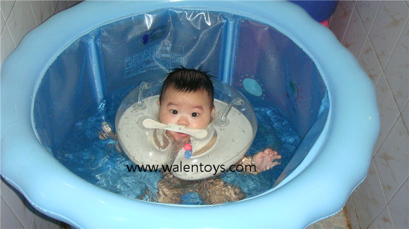 Baby Swimming Swim Ring,Neck Bath Float Ring,Inflatable Tubes ...